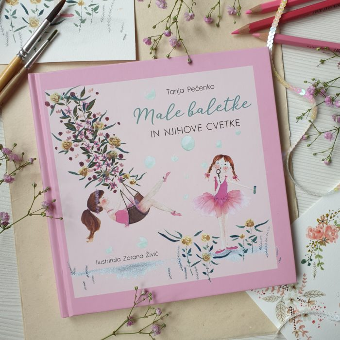 Male baletke in njihove cvetke – Little Ballerinas
