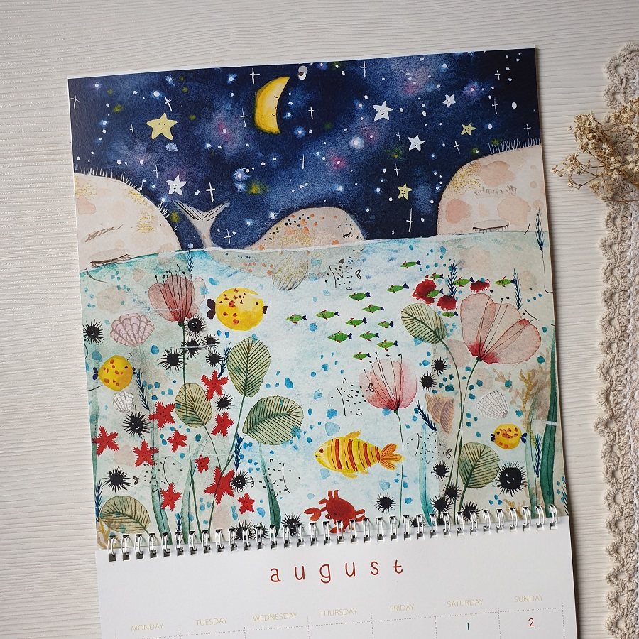 8th page of the calendar