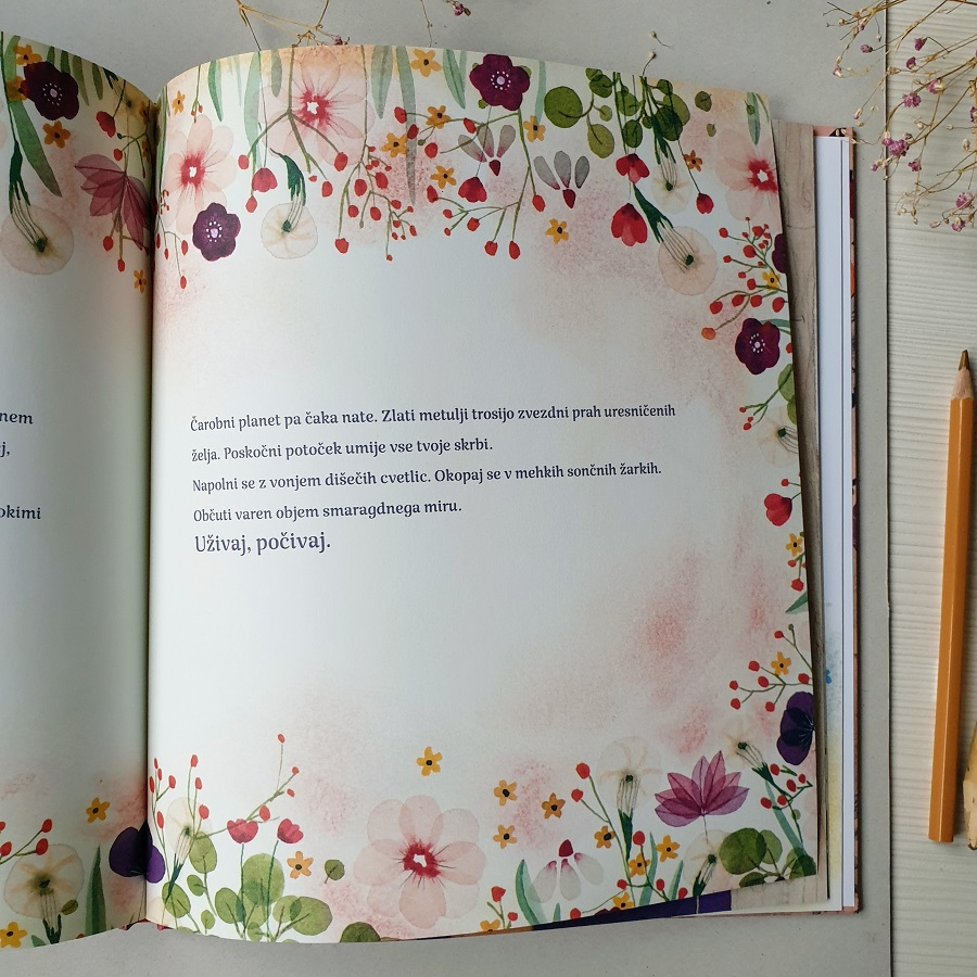 A page in Magic Tree picture book