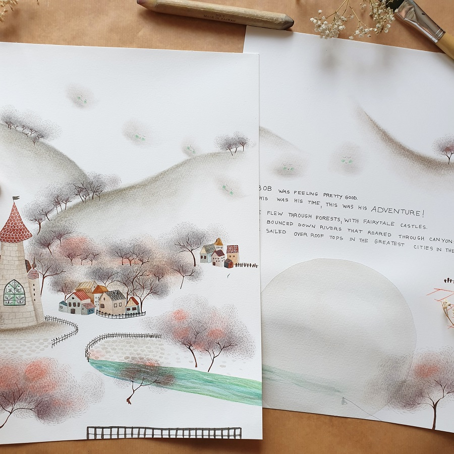 Illustrating children's books – MATS ICB7