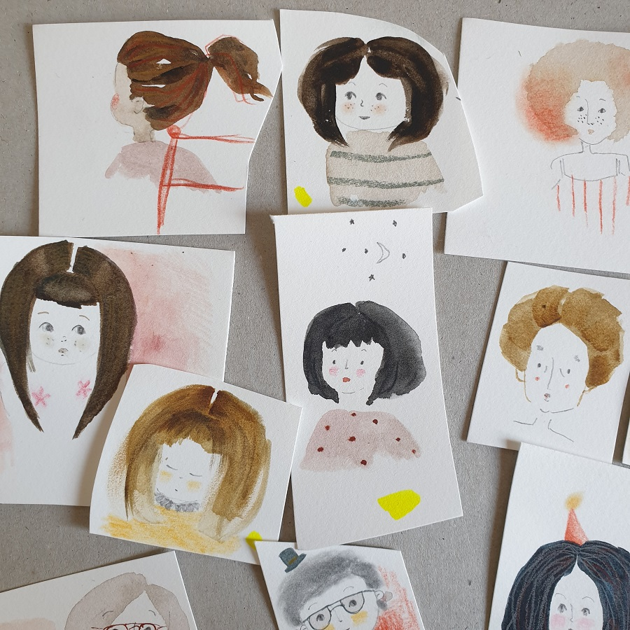 Hairdos sketches